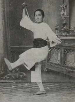 Mok Gwailaan, poslední Wong Feihungova žena, ve věku 19 let