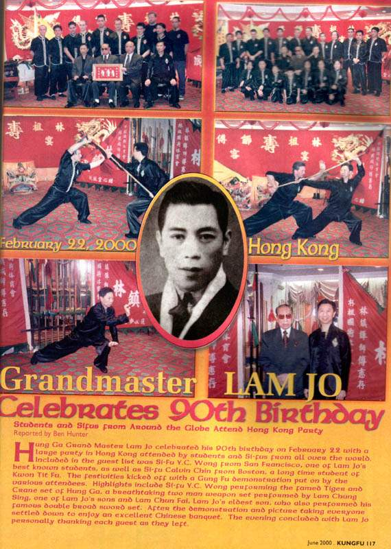 Velmistr Lam Jou slaví 90. narozeniny